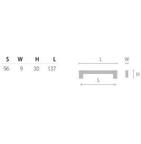 Baldinė rankenėlė C-1143/C-1146