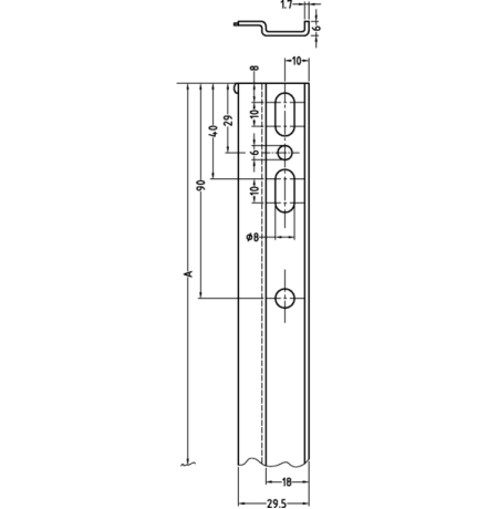Pakabinimo juostelė