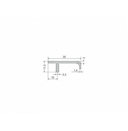Aliuminio profilis UKW-14